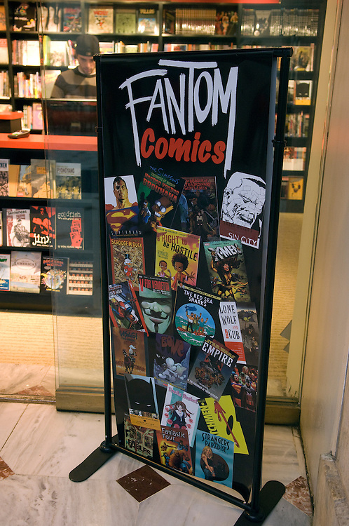 Fantom Comics a new store at Union Station in Washington, D.C.