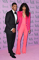 Russell Wilson and Ciara<br /> arriving for the V&A Summer Party 2018, London<br /> <br /> ©Ash Knotek  D3410  20/06/2018