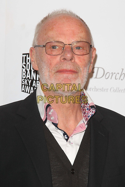 Bob Harris.South Bank Sky Arts Awards at the Dorchester Hotel, Park Lane, London, England..May 1st 2012.headshot portrait black white glasses beard facial hair .CAP/ROS.©Steve Ross/Capital Pictures