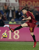 Calcio, Serie A: AS Roma - Sampdoria, Roma, stadio Olimpico, 28 gennaio 2018. <br /> Roma's Stephan El Shaarawy in action during the Italian Serie A football match between AS Roma and Sampdoria at Rome's Olympic stadium, January 28, 2018.<br /> UPDATE IMAGES PRESS/Isabella Bonotto