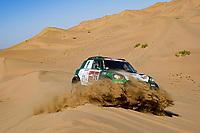 5th January 2020, Jeddah, Saudi Arabia;  324 Seaidan Yasir sau, Kuzmich Alexy rus, Mini, Race World Team, during Stage 1 of the Dakar 2020 between Jeddah and Al Wajh, 752 km  - Editorial Use