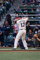 July 13, 2009: Portland Beavers' Chad Huffman, the winner of the 2009 Triple-A All-Star Game Home Run Derby at PGE Park in Portland, Oregon.