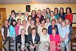 Staff from Fatima Home Oakpark Tralee gathered in Stokers Lodge bar/restaurant Clounalour Tralee on Tuesday evening to celebrate the retirement of 4 nurses who are seated front L-R Bridget McCarthy(Liznaw)Ann Jones (Cordal)Ann Leen (Causeway)and Noreen Sheridan from Castleisland.