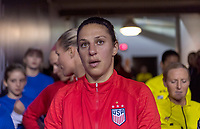 , FL - : Carli Lloyd #10 of the United States waits in the tunnel during a game between  at  on ,  in , Florida.
