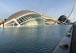 Valencia-Spain, January 08, 2018; <br /> Ciudad de las Artes y Ciencias; architecture;<br /> Photo © HorstWagner.eu