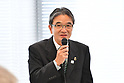Ryohei Miyata, <br /> MAY 22, 2017 : Mascot Selection Panel for The Tokyo Organising Committee of the Olympic and Paralympic Games holds its 1st meeeting in Tokyo, Japan. (Photo by AFLO)