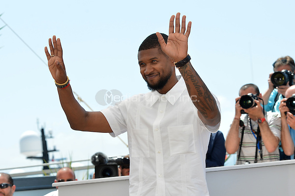 Usher Raymond IV at the Photocall 'Hands of Stone' - 69th Cannes Film Festival on May 16, 2016 in Cannes, France.<br /> CAP/LAF<br /> &copy;Lafitte/Capital Pictures /MediaPunch ***NORTH AND SOUTH AMERICA ONLY***