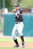 May 15, 2010: Niko Vasquez of the Quad City River Bandits at Elfstrom Stadium in Geneva, IL. The River Bandits are the Class A affiliate of the St. Louis Cardinals. Photo by: Chris Proctor/Four Seam Images