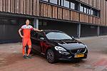 AMSTELVEEN - Photoshoot VOLVO met hockey international  FLORIS WORTELBOER .  COPYRIGHT KOEN SUYK