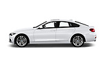 Car driver side profile view of a 2018 BMW 4 Series Gran Coupe 2wd 430i 5 Door Hatchback