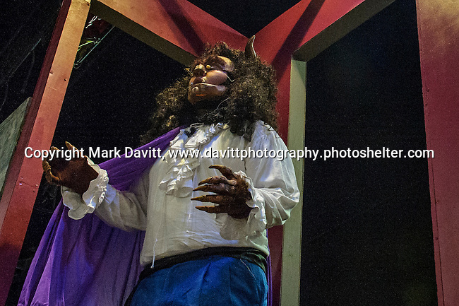 Ozzie Padilla performs as the Beast in Southeast Polk High School's Beauty and the Beast to be presented Nov. 11 at 7 p.m. and Nov. 12 at 7 p.m. In addition, on Nov. 12 at 10–11:30 a.m. the players will host a VIP Enchanted Event in which  guests can meet Bell, the Beast, and other characters.