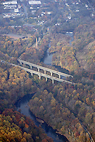 rivanna river, interstate 64, aerial