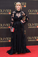 Hannah Arterton arriving for the Olivier Awards 2018 at the Royal Albert Hall, London, UK. <br /> 08 April  2018<br /> Picture: Steve Vas/Featureflash/SilverHub 0208 004 5359 sales@silverhubmedia.com