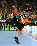 10.01.2019, Mercedes Benz Arena, Berlin, GER, Handball WM 2019, Deutschland vs. Korea, im Bild <br /> Finn Lemke (GER #6))<br /> <br />      <br /> Foto © nordphoto / Engler