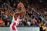 05.01.2020, ratiopharm arena, Neu-Ulm, GER, BBL, ratiopharm ulm vs Telekom Baskets Bonn, <br /> im Bild 3-Punkte-Wurf von Yorman Polas Bartolo (Bonn, #13)<br />   <br /> Foto © nordphoto / Hafner