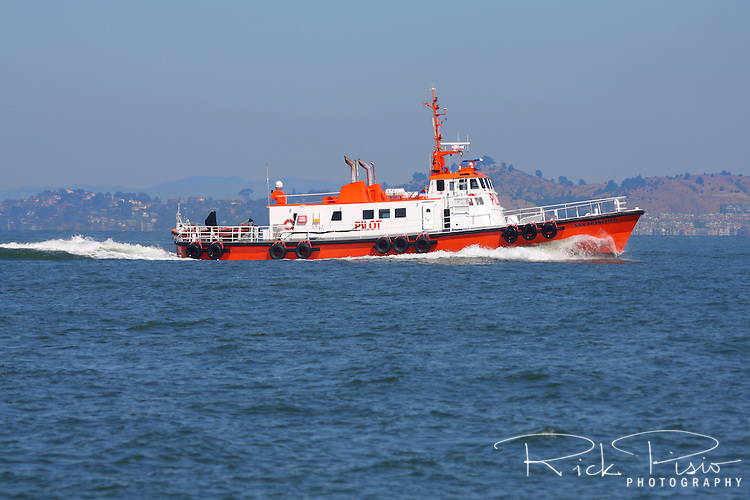 Pilot Boat on the waters of San Francisco Bay