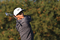 Thorbjorn Olesen (DEN) on the 5th tee during the Pro-Am for the Sky Sports British Masters at Walton Heath Golf Club in Tadworth, Surrey, England on Tuesday 10th Oct 2018.<br />
