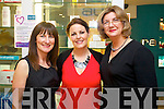 Pictured at the Clarins evening in Ch Chemist, Tralee, on Thursday evening last were l-r: Angela O'Mahony Grainne Crean and Debbie McVicker