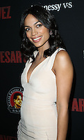 "HOLLYWOOD, LOS ANGELES, CA, USA - MARCH 20: Rosario Dawson at the Los Angeles Premiere Of Pantelion Films And Participant Media's ""Cesar Chavez"" held at TCL Chinese Theatre on March 20, 2014 in Hollywood, Los Angeles, California, United States. (Photo by Celebrity Monitor)"