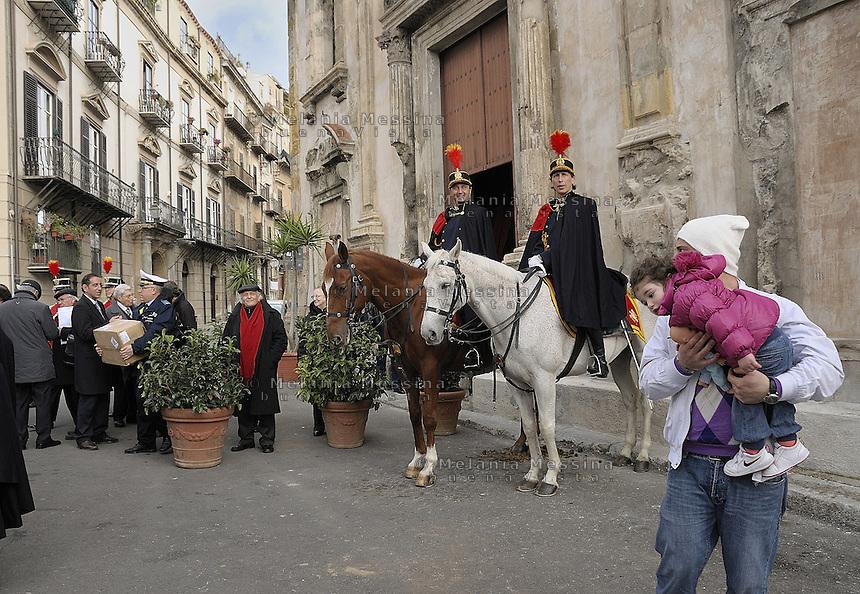Palermo historic city center.<br /> Palermo, vie del centro storico.