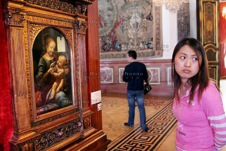 San Pietroburgo: la madonna di Leonardo  Da Vinci al museo dell'Ermitage
