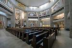 Kraków, 12.05.2016 (woj. małopolskie). Centrum Jana Pawła II - kościół górny.