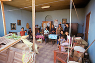 On February 4, 1976, Guatemala was struck by a  major 7.5 magnitude earthquake, which contributed to the high death toll of 23.000 and about 80.000 wounded. It happened during the night and most adobe type houses in mountain villages collapsed. Some families totally lost their home, some others were more lucky.