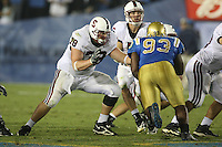 1 October 2006: Jon Cochran during Stanford's 31-0 loss to UCLA at the Rose Bowl in Pasadena, CA.