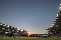 A large crowd during the Black Caps v Australia international T20 cricket match at Eden Park in Auckland, New Zealand. 16 February 2018. Copyright Image: Peter Meecham / www.photosport.nz