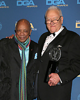 LOS ANGELES - FEB 2:  Quincy Jones, Don Mischer at the 2019 Directors Guild of America Awards at the Dolby Ballroom on February 2, 2019 in Los Angeles, CA