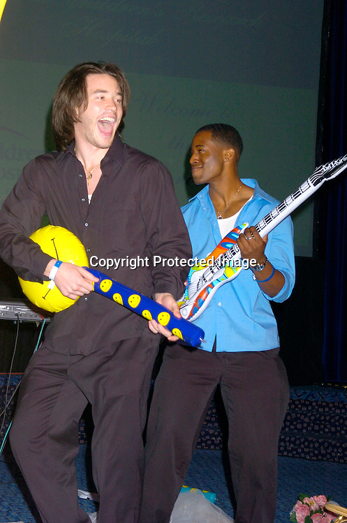 Tom Pelphrey and Gavin Houston ..at the 10th Annual Daytime Television Salutes St. Jude Children's Research Hospital Benefit on October 8, 2004 at the Marriott Marquis Hotel in New York City...Photo by Robin Platzer, Twin Images