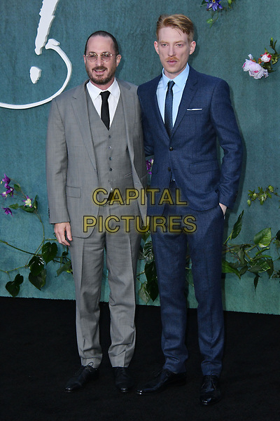LONDON, ENGLAND - SEPTEMBER 06: Darren Aronofsky, Domhnall Gleeson attend the UK premiere of 'Mother!' at the Odeon Leicester Square on September 6, 2017 in London, England. <br /> CAP/JOR<br /> &copy;JOR/Capital Pictures