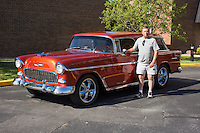 1955 Custom Junior (#103) – 1955 Chevrolet Nomad registered to Veryl Roberts is pictured during 4th State Representative Chevy Show on Thursday, June 30, 2016, in Fort Wayne, Indiana. (Photo by James Brosher)