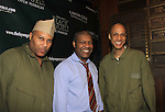 Layon Gray & Thaddeus Daniels & Thom Scott - Layon Gray's Black Angels Over Tuskegee goes into its 4th year as they celebrate their 3rd Anniversary on March 2, 2013 at the Actors Temple Theatre, New York City, New York.  (Photo by Sue Coflin/Max Photos)