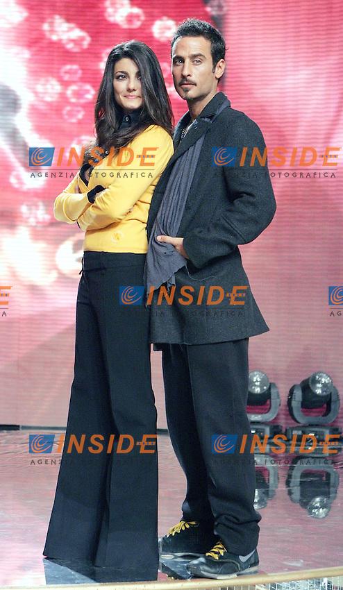 Samanta Togni  e Raz Degan..RAI - Presentazione del programma televisivo BALLANDO CON LE STELLE..Roma, 8 Gennaio 2010..Photo Serena Cremaschi Insidefoto