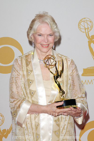 Ellen Burstyn at the 65th Primetime Emmy Awards at the Nokia Theatre, LA Live.<br /> September 22, 2013  Los Angeles, CA<br /> Picture: Featureflash