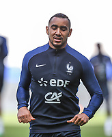Former West Ham player Dimitri Payet (left) of France during the France National Team Training session ahead of the match with England tomorrow evening at Stade de France, Paris, France on 12 June 2017. Photo by David Horn / PRiME Media Images.