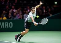 Februari 09, 2015, Netherlands, Rotterdam, Ahoy, ABN AMRO World Tennis Tournament, Grigor Dimitrov (BUL)<br /> Photo: Tennisimages/Henk Koster