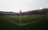A general view of St Mary's Stadium, home of Southampton<br /> <br /> Photographer Kevin Barnes/CameraSport<br /> <br /> The Premier League - Southampton v Burnley - Sunday August 12th 2018 - St Mary's Stadium - Southampton<br /> <br /> World Copyright &copy; 2018 CameraSport. All rights reserved. 43 Linden Ave. Countesthorpe. Leicester. England. LE8 5PG - Tel: +44 (0) 116 277 4147 - admin@camerasport.com - www.camerasport.com