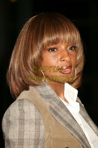 "MARY J. BLIGE .""I Think I Love My Wife"" Los Angeles Premiere at ArcLight Cinemas, Hollywood, California, USA..March 7th, 2007.headshot portrait .CAP/ADM/BP.©Byron Purvis/AdMedia/Capital Pictures"