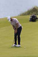 Lucas Bjerregaard (DEN) putts on the 6th green during Thursday's Round 1 of the Dubai Duty Free Irish Open 2019, held at Lahinch Golf Club, Lahinch, Ireland. 4th July 2019.<br /> Picture: Eoin Clarke | Golffile<br /> <br /> <br /> All photos usage must carry mandatory copyright credit (© Golffile | Eoin Clarke)