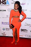 NEW YORK, NY - OCTOBER 23: Yandy Smith  attends the Harlem School of the Arts 2017 Gala Masquerade Ball at the Plaza hotel on Monday, October 23, 2017  in New York. Credit: Raymond Hagans/MediaPunch /NortePhoto.com