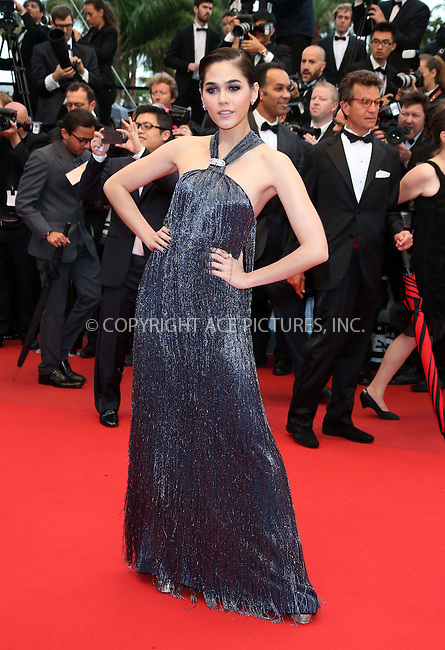 WWW.ACEPIXS.COM....US Sales Only....May 22 2013, Cannes....Araya A. Hargate at the premiere of 'All Is Lost' during the 66th Cannes Film Festival on May 22 2013 in France ....By Line: Famous/ACE Pictures......ACE Pictures, Inc...tel: 646 769 0430..Email: info@acepixs.com..www.acepixs.com