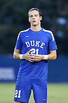 27 September 2016: Duke's Markus Fjortoft (NOR). The Duke University Blue Devils hosted the Georgia State University Panthers at Koskinen Stadium in Durham, North Carolina in a 2016 NCAA Division I Men's Soccer match. Georgia State won the game 2-1 in two overtimes.