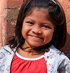 Cambodian Girl 03 - Young smiling Cambodian girl at Banteay Srei Temple, Cambodia