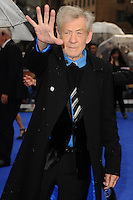 "Sir Ian McKellan arriving for the ""X-Men: Days of Future Past"" UK premiere at the Odeon Leicester Square, London. 12/05/2014 Picture by: Steve Vas / Featureflash"