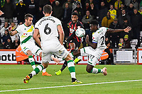 Junior Stanislas of AFC Bournemouth scores the first goal during AFC Bournemouth vs Norwich City, Caraboa Cup Football at the Vitality Stadium on 30th October 2018