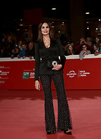 "L'attrice italiana Maria Grazia Cucinotta posa durante il red carpet per la presentazione del film ""Motherless Brooklyn"" alla 14^ Festa del Cinema di Roma all'Aufditorium Parco della Musica di Roma, 17 ottobre 2019.<br /> Italian actress Maria Grazia Cucinotta poses during the red carpetl to present the movie ""Motherless Brooklyn"" during the 14^ Rome Film Fest at Rome's Auditorium, on 17 october 2019.<br /> UPDATE IMAGES PRESS/Isabella Bonotto"