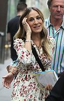 JUN 13 Sarah Jessica Parker Seen at NBC's Today