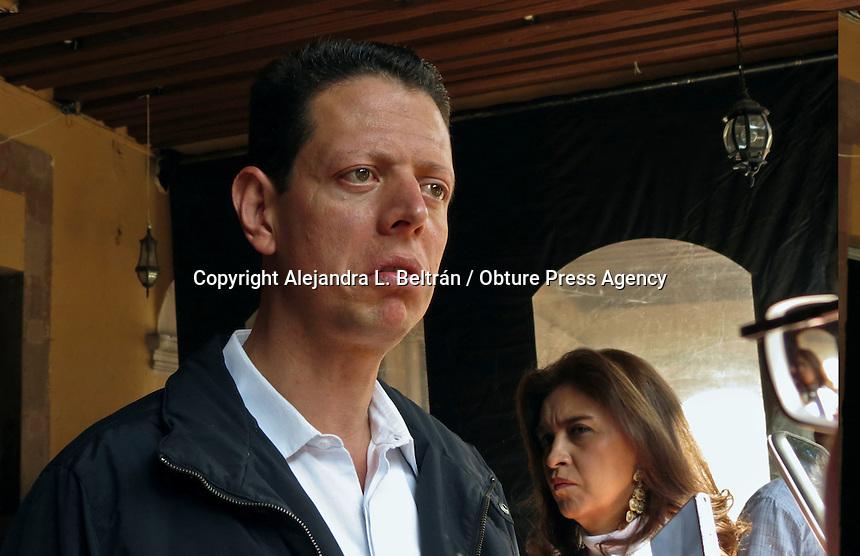 Querétaro, Qro. 16 de marzo 2016. En rueda de prensa, el líder de la bancada priista, Mauricio Ortiz Proal, exhortó a la UAQ y al STEUAQ a resolver de manera pronta el conflicto. Foto: Alejandra L. Beltrán / Obture Press Agency